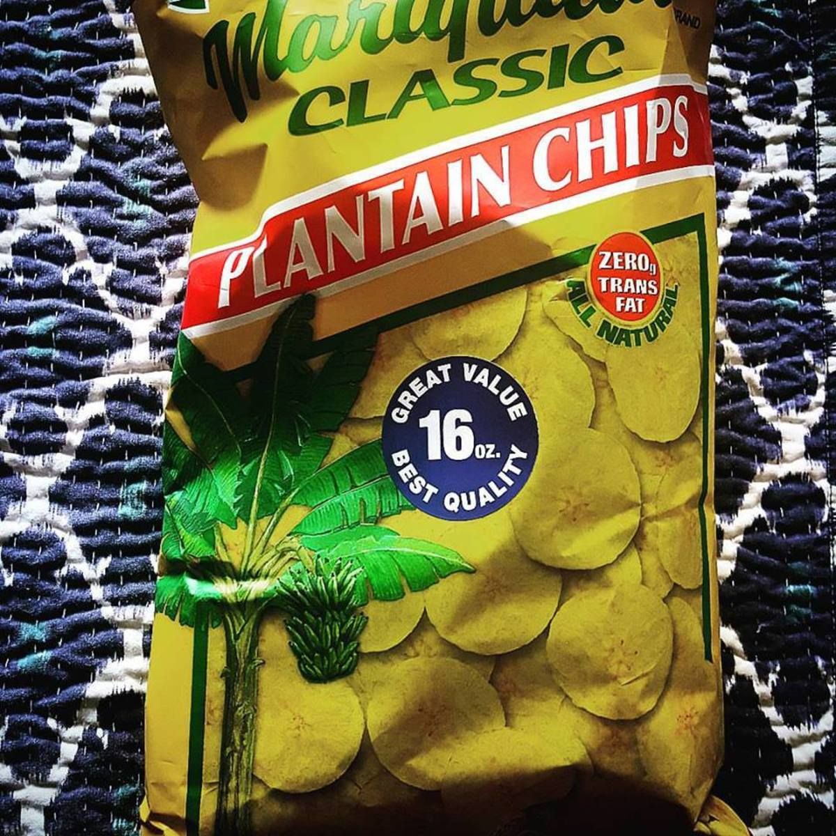 Not a native to Morocco, plantain chips were an instant favorite with my host families.