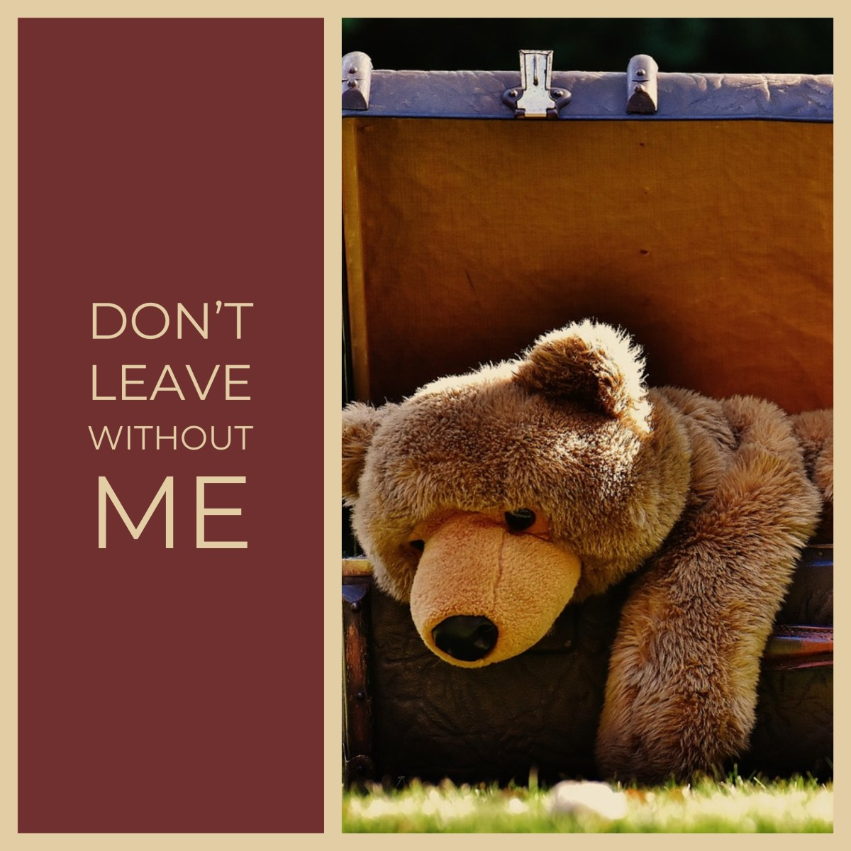 Saying Goodbye - Don't Leave Me