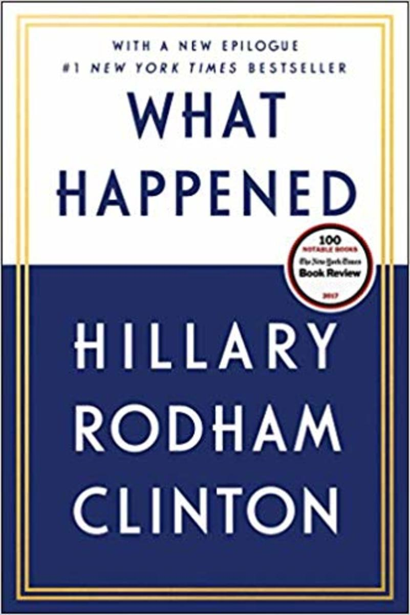 Hillary Clinton's What Happened book makes a great gift for a feminist mom.