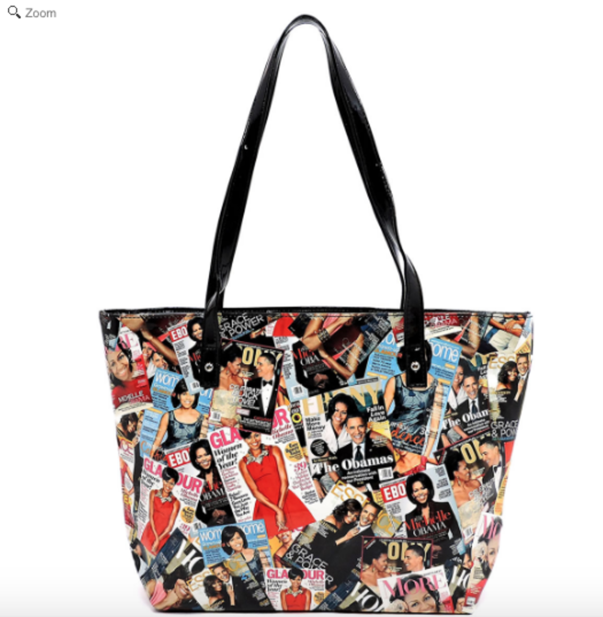 These Michelle Obama tote bags come in packs of two. They are great for shopping, bringing kids stuff around, or taking anywhere you want to be reminded of a great lady.