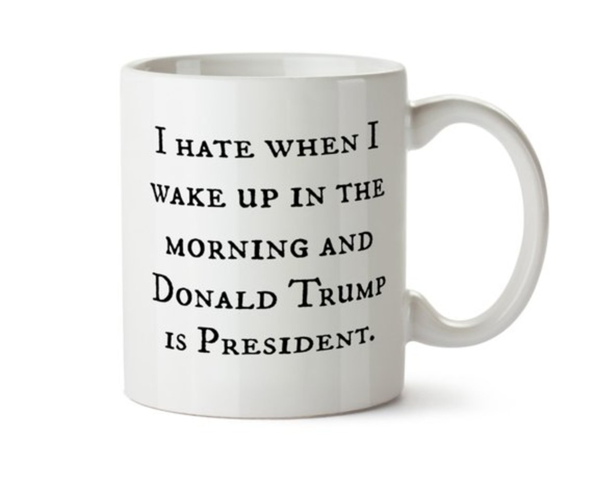 This anti-Trump mug can be Mom's private protest against our own women-hater-in-chief.
