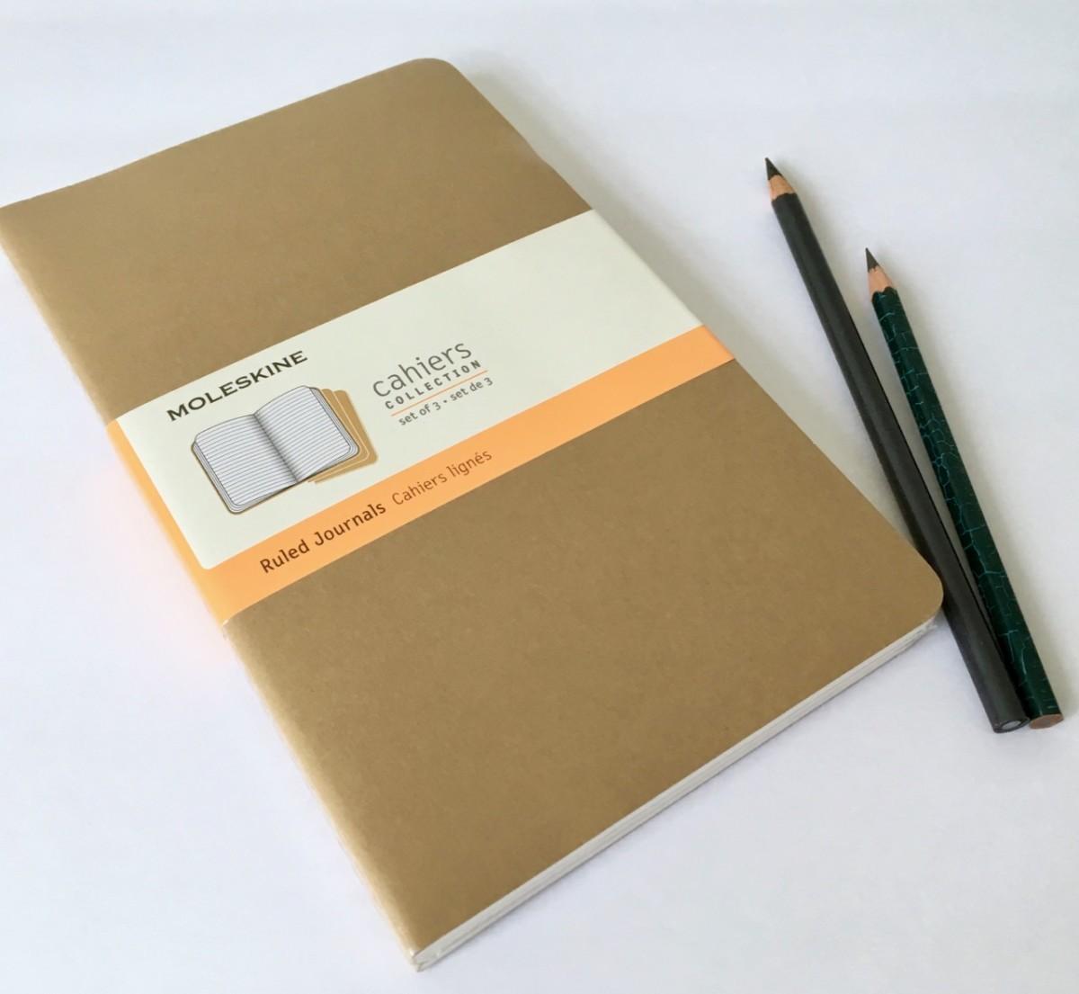 Moleskine Cahier Journal Set