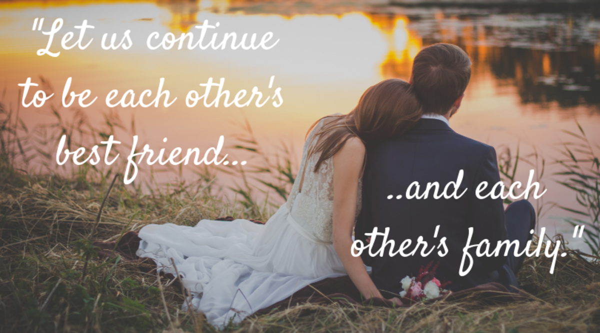 100+ Romantic Wedding Vows and Quotes for Him and Her