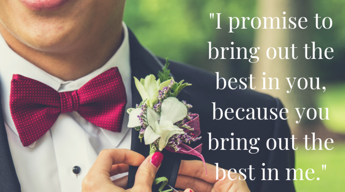 100 Romantic Wedding Vows And Quotes For Him And Her