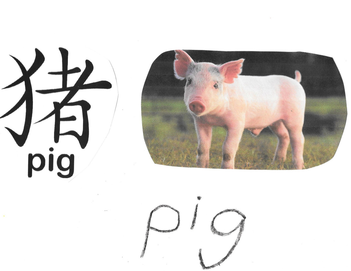 Here's one idea to use with the characters above. Have the children cut out a picture of the pig to pair with the character they have cut out.