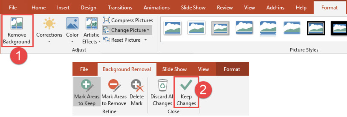 PowerPoint Remove Background