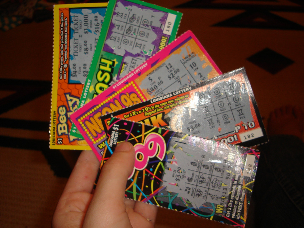 Supplement your gift with lottery tickets. Don't make them the main event.