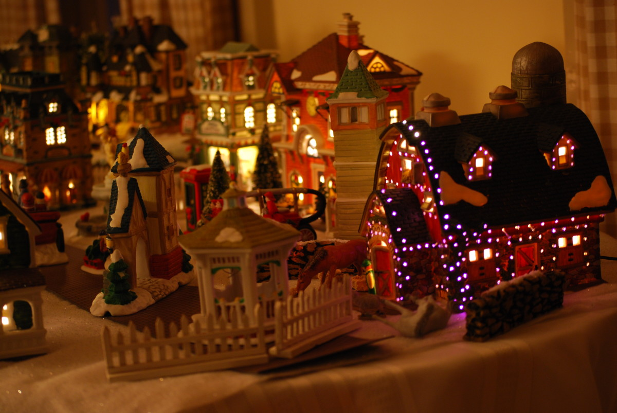 Picking up any old Christmas village piece leads to a mess of a Christmas village collection.