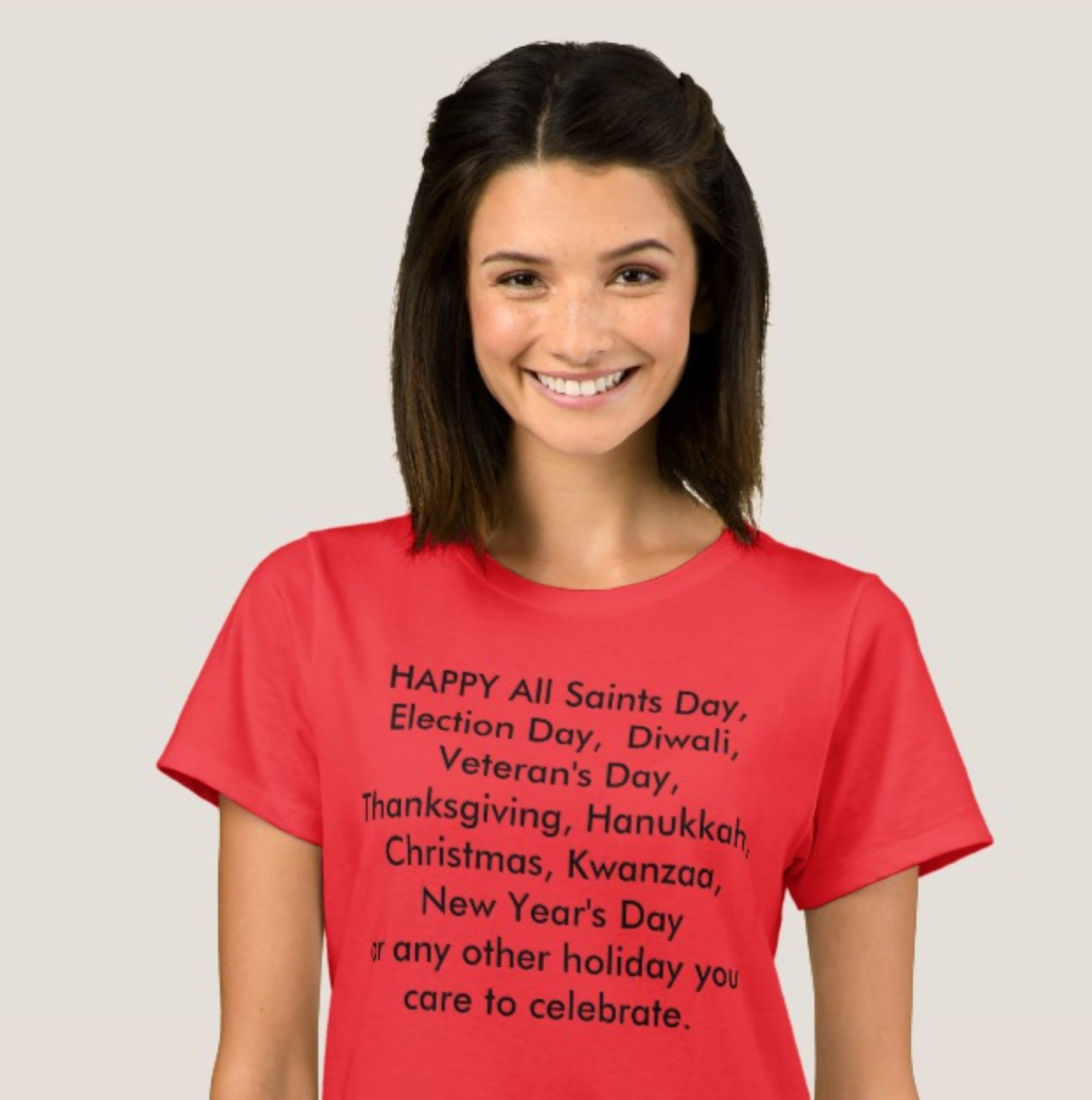 I even designed this shirt for myself using the Zazzle site so I could get my message out.