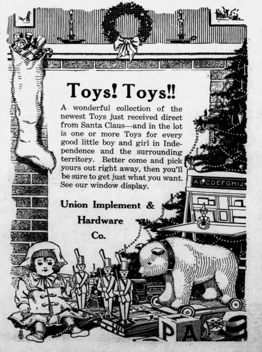 South Kansas Tribune  (Independence, Kansas) 20 Dec 1922, Wed  • Page 4