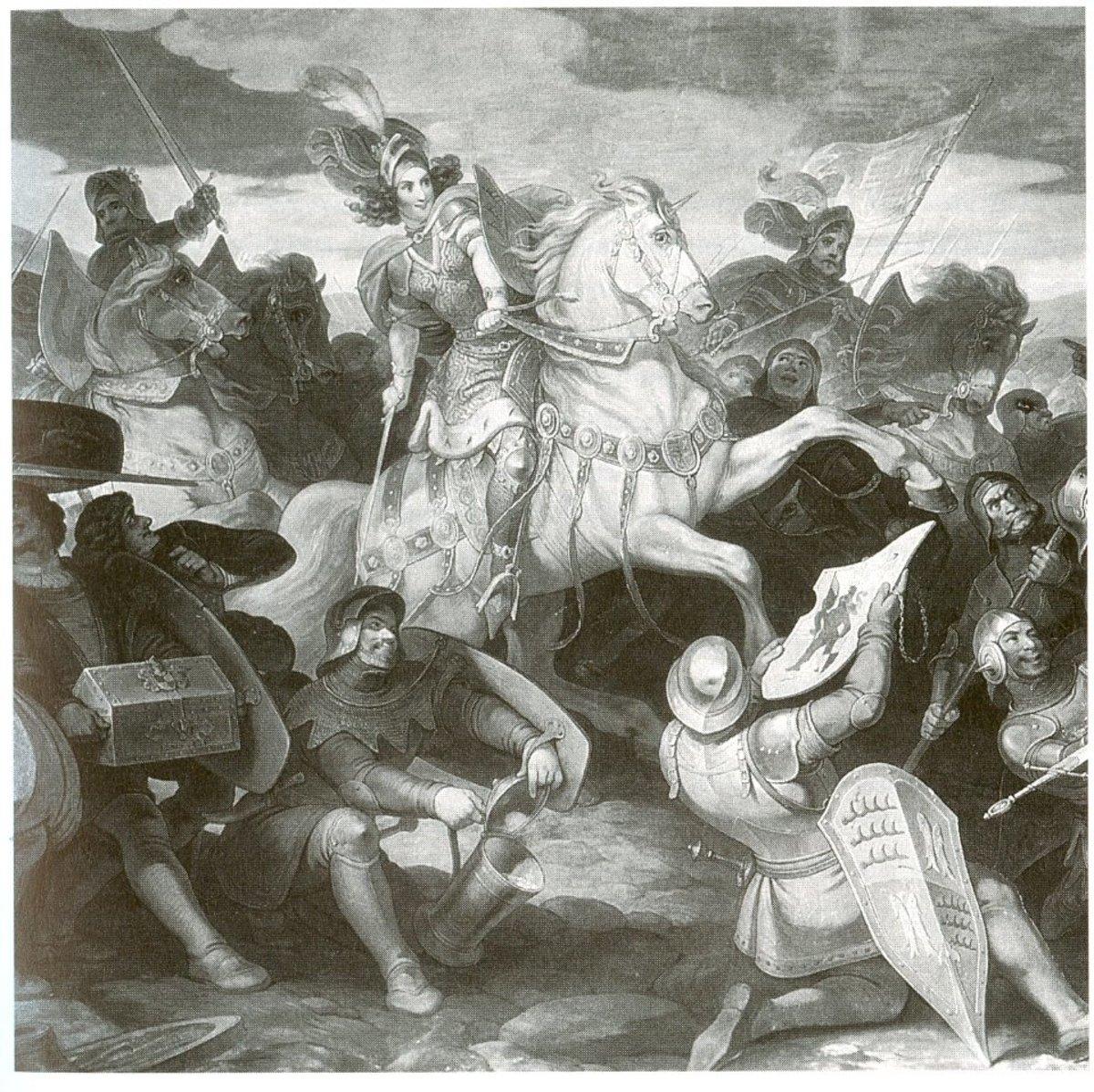 19th century depiction of Henriette von Mömpelgard.
