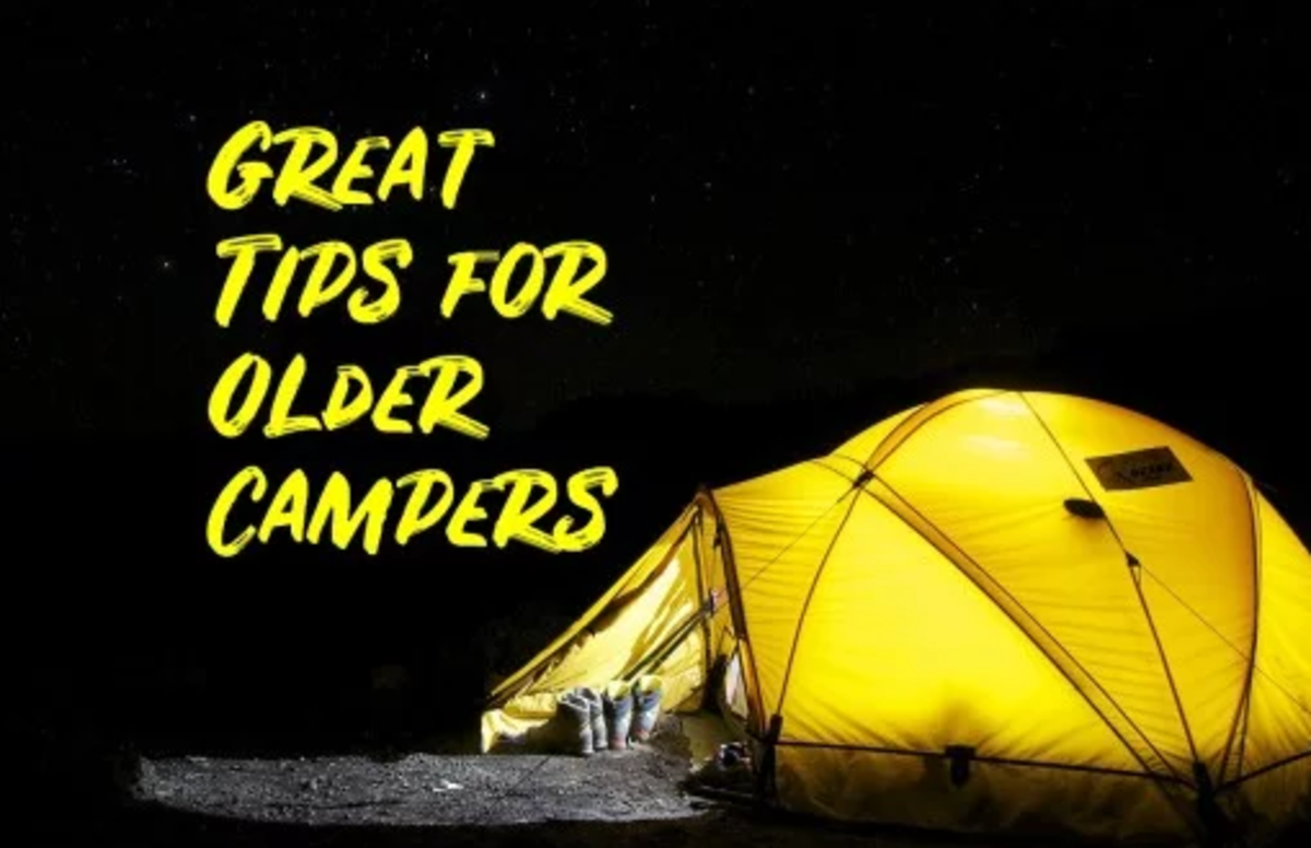 Camping gear makes a great gift!