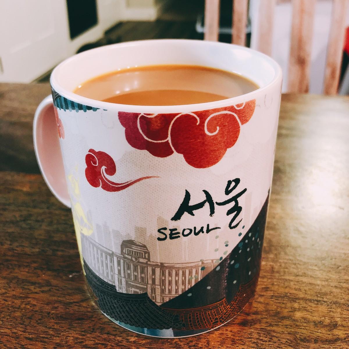 Nothing beats a mug of warm coffee at home.