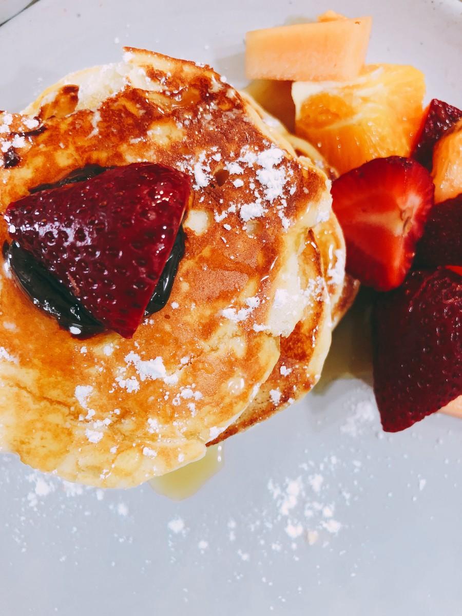 Sugary breakfast is my favorite kind of breakfast.