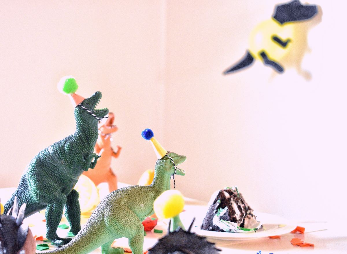 For an animal that's been extinct for the past 60 million years, dinosaurs sure know how to party!