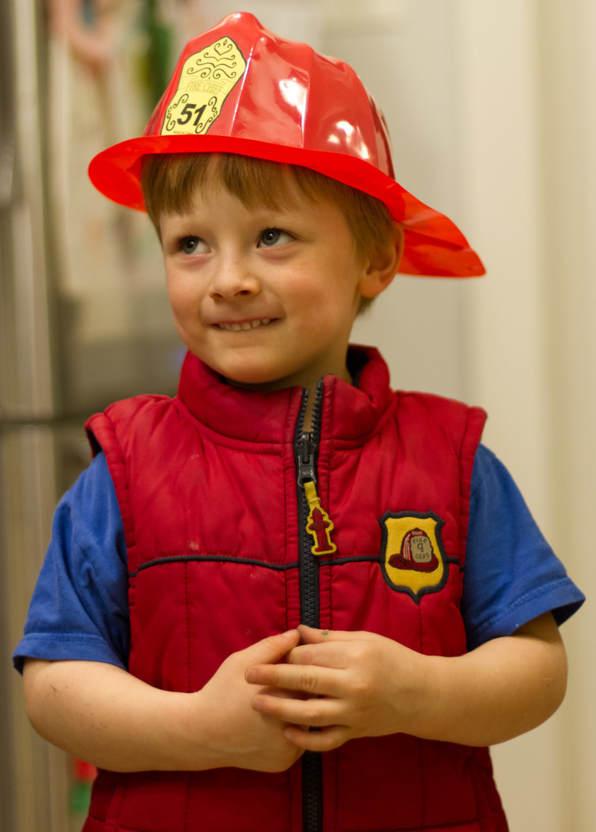 Firefighter-themed parties are easy to prepare and decorate for.