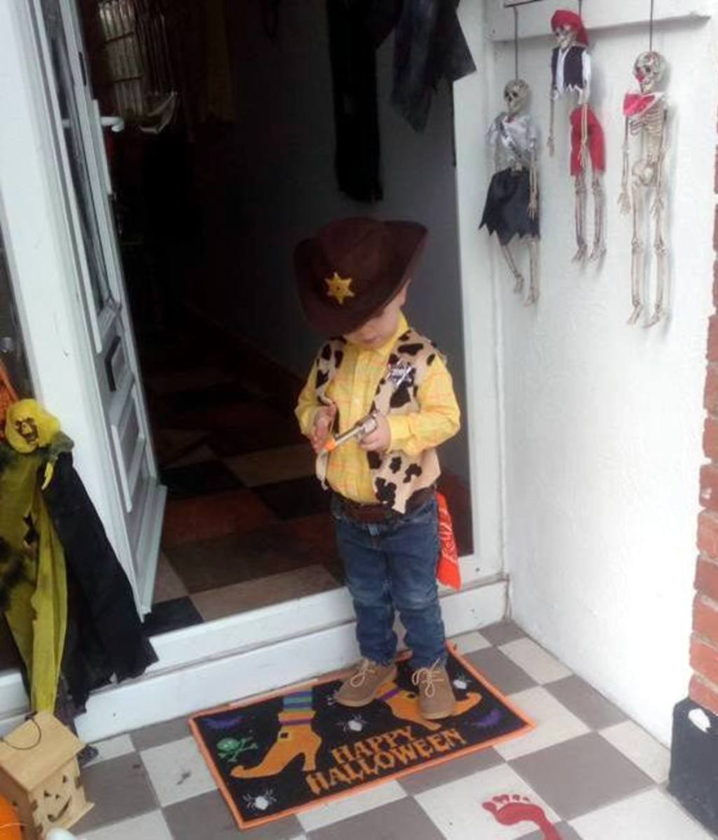 Woody Costume from Toy Story 4
