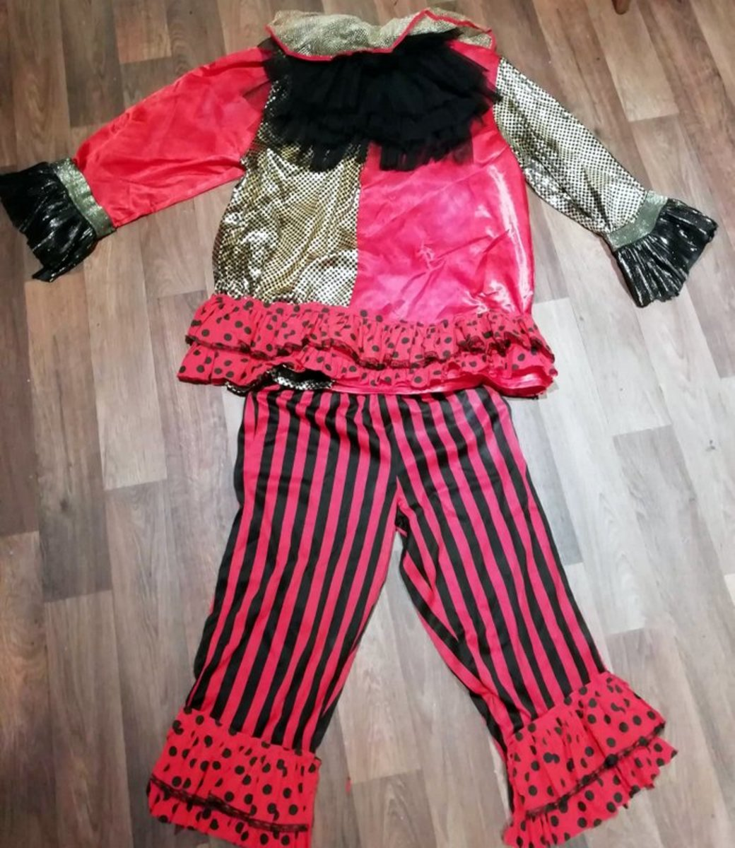 A Clown Outfit