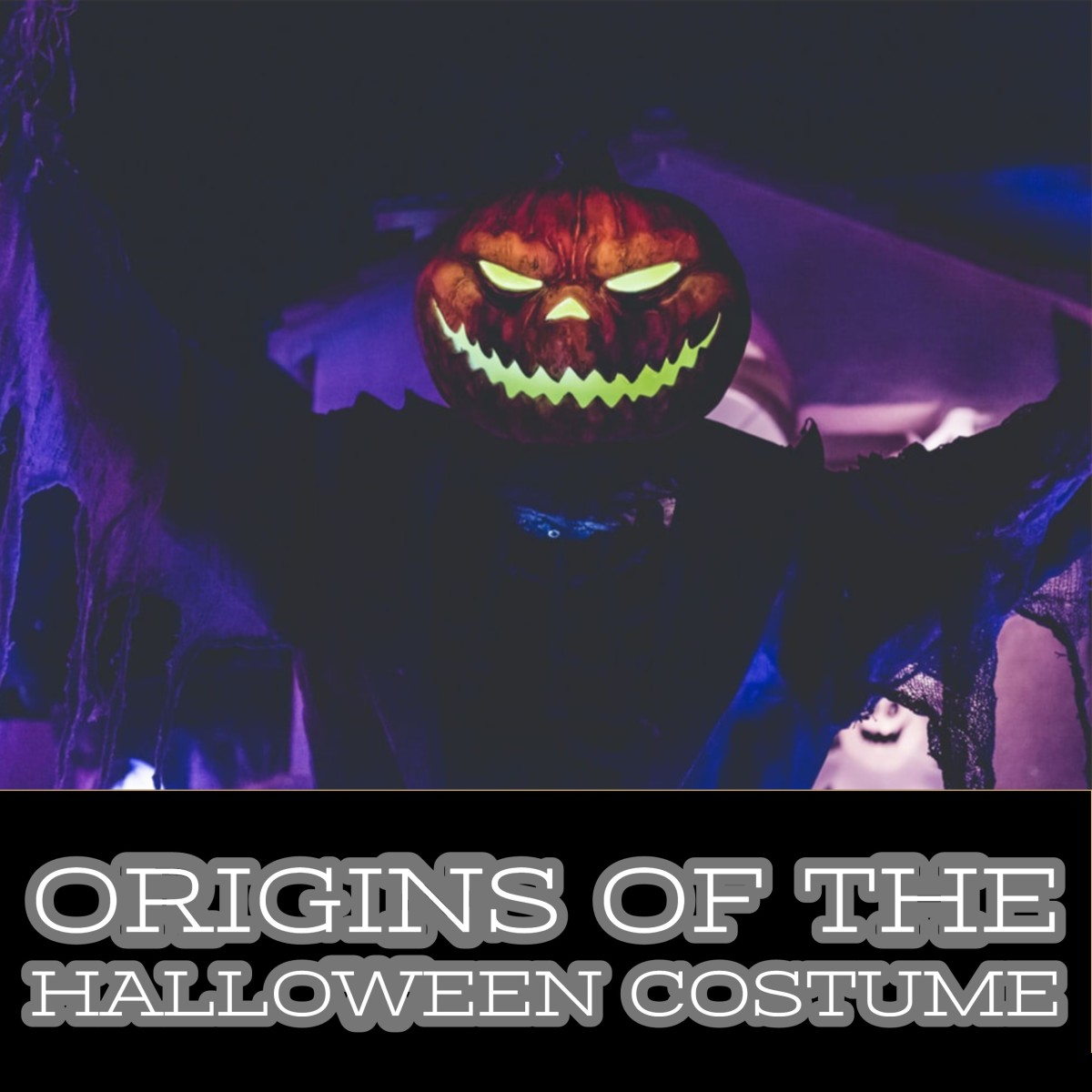How did Halloween costumes originate?