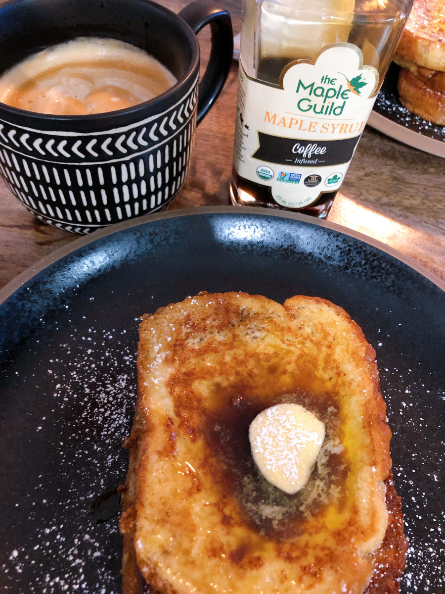 Voila! Scrumptious French toast!