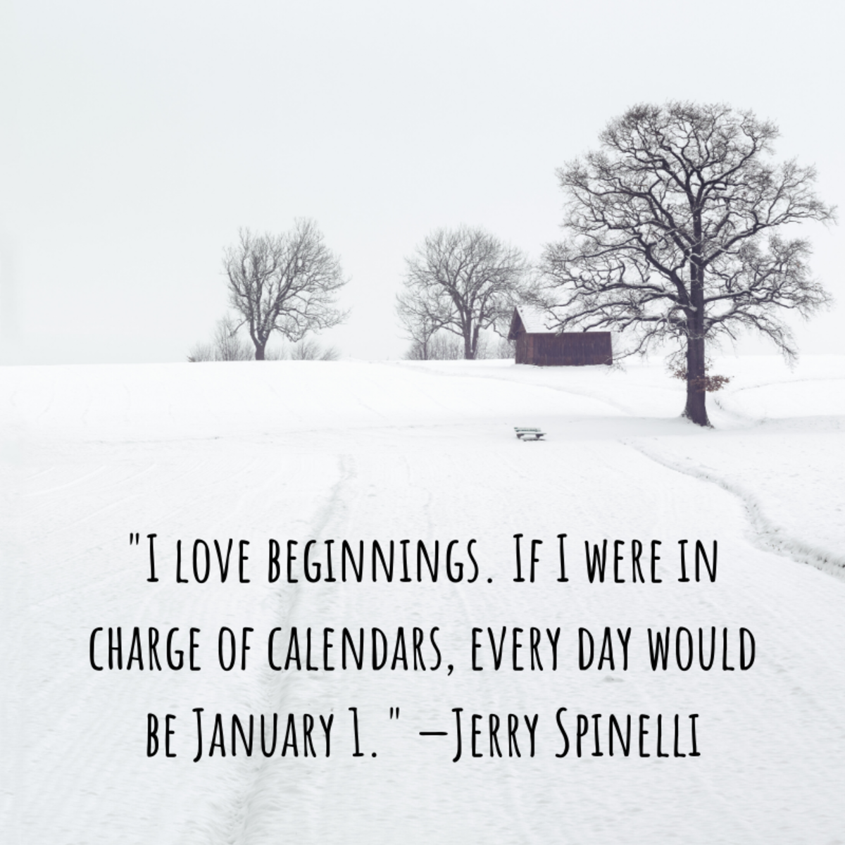 January excites some people and scares others. How do you feel about it?