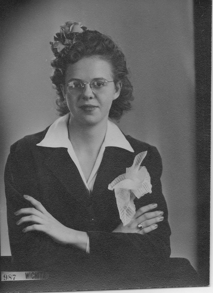 Portrait of Gail Lee McGhee—1940s