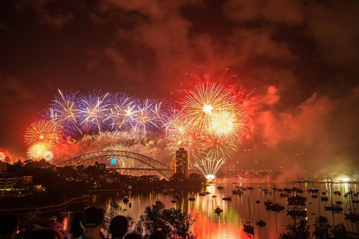 New Year's Eve in Sydney, Australia