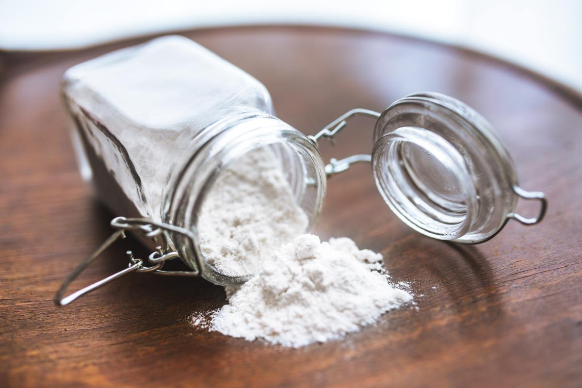 Improperly measuring flour can result in dense and dry baked goods!