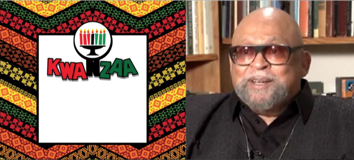 Dr. Maulana Ndabezitha Karenga invented the African-American holiday of Kwanzaa amid the aftereffects of the Watts riots.