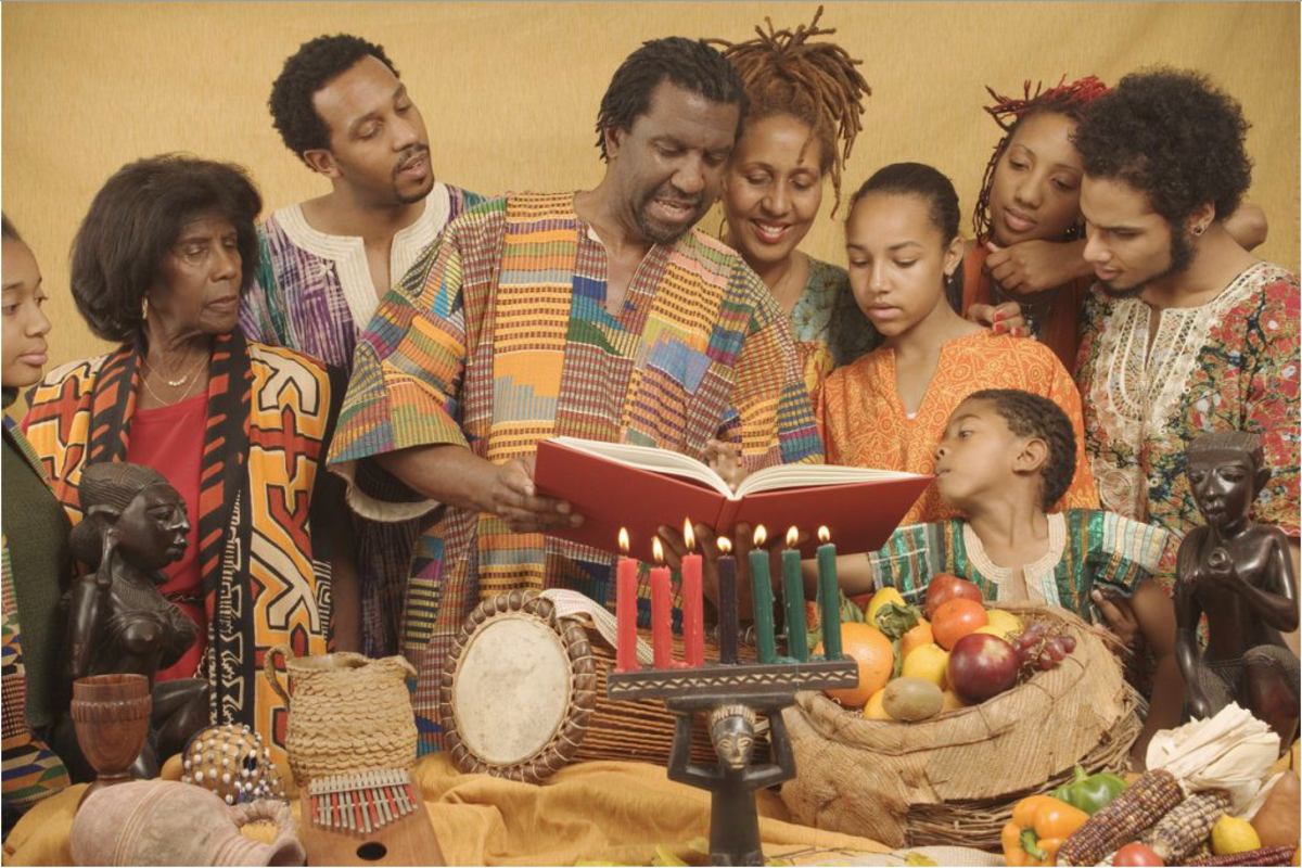 """Kwanzaa participants say """"Habari Gani?"""" when greeting others at the festival. Saying the name of the principle for that day is the appropriate response."""