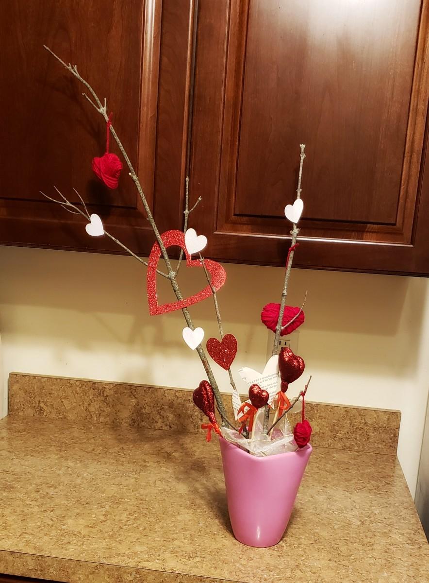 Vase of Hearts.