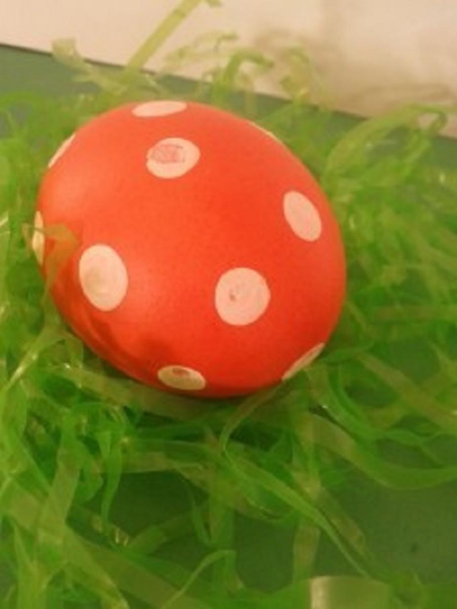 Polka Dot Egg