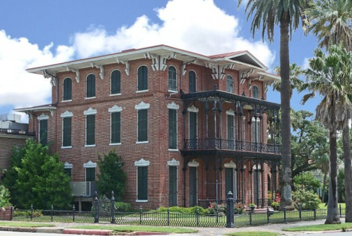 Ashton Villa, a historic home in Galveston, was the location at which Texas slaves' freedom was announced in 1865.