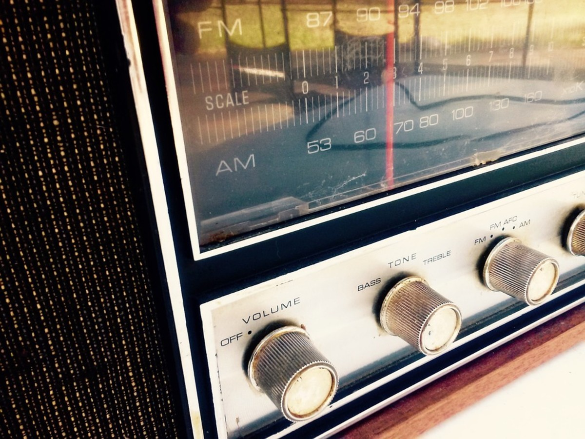 Keep the radio turned to a station you normally listen to at home.
