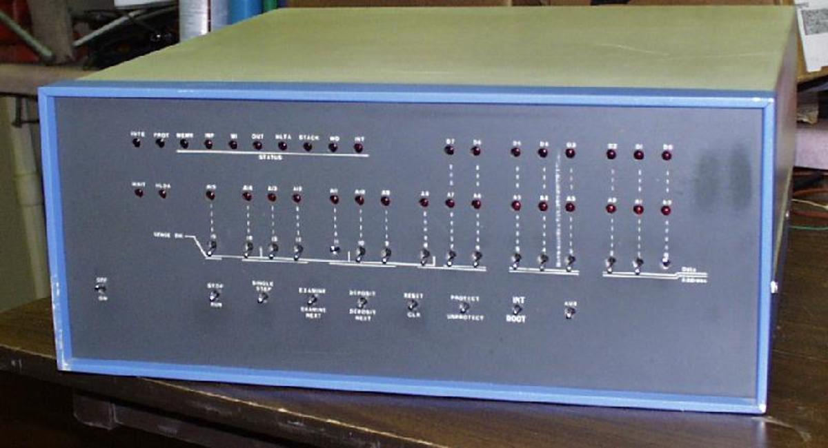 Mock-up of Altair 8800