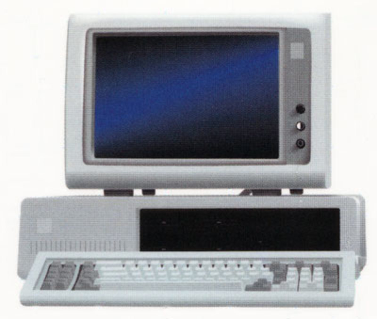 IBM 5150 with Enhanced Keyboard