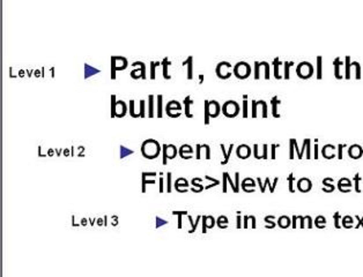 Figure 3 Multi-level content