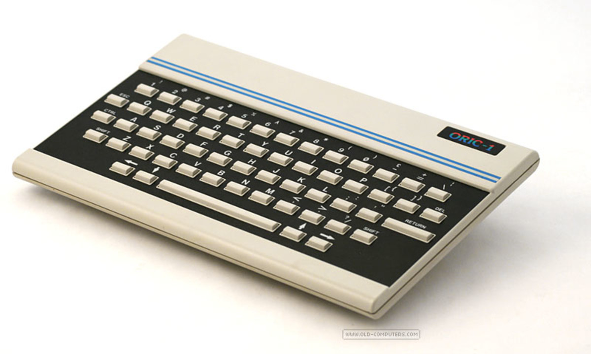 The Oric 1 looked pretty good