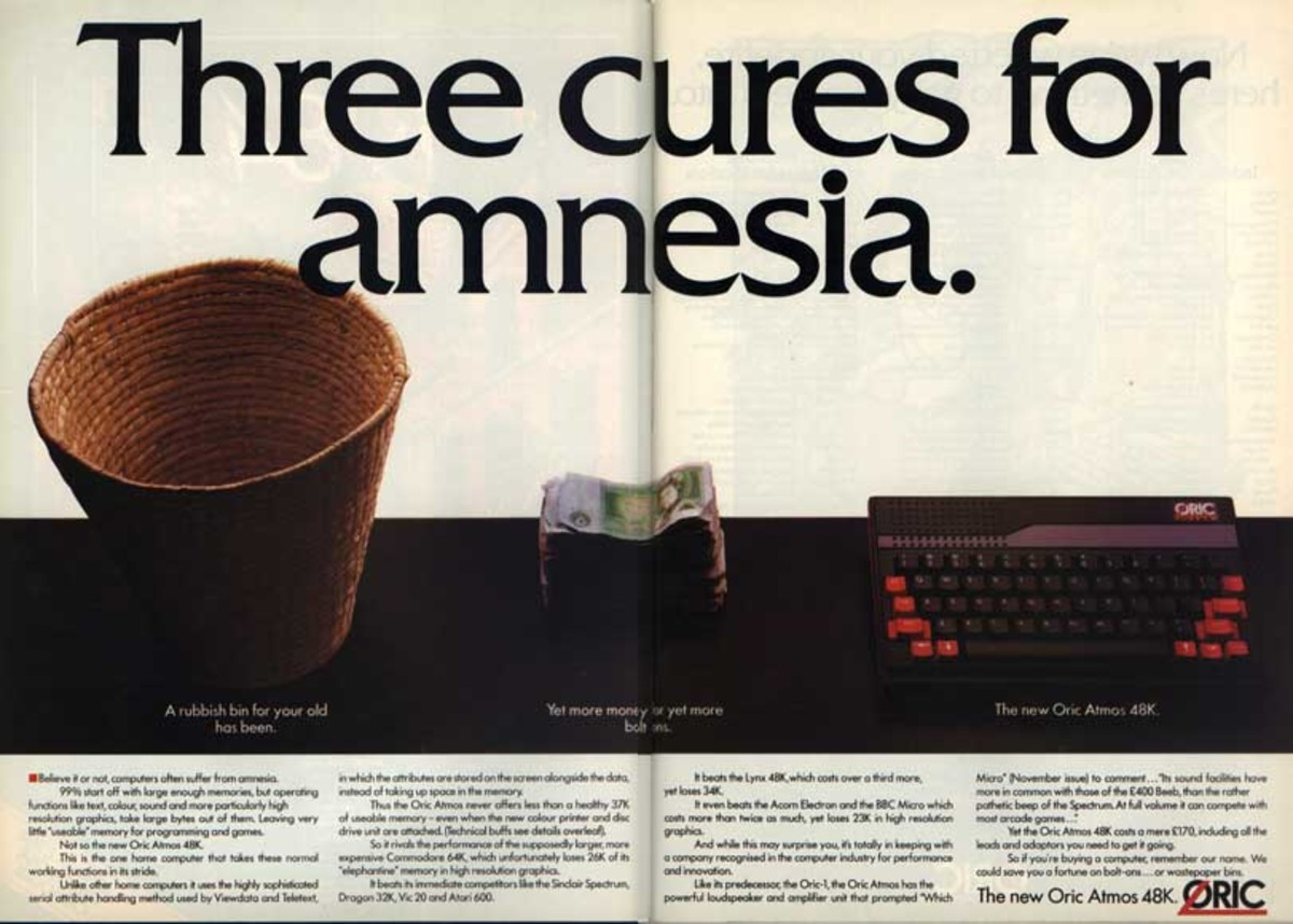 The tape loading problems with the Oric Atmos could give you insomnia