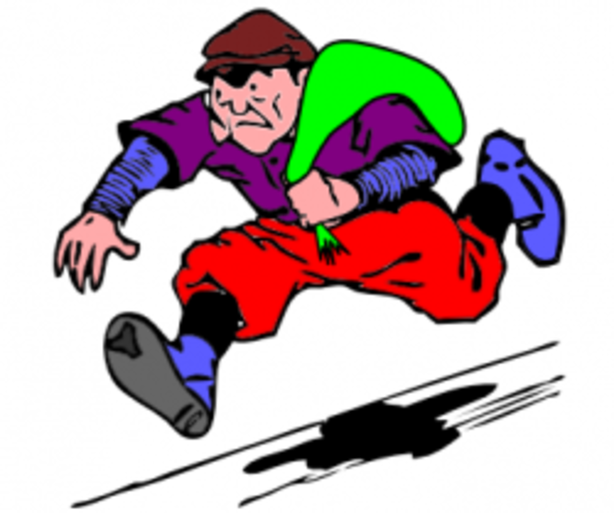 Thief from Clker.com clip art site