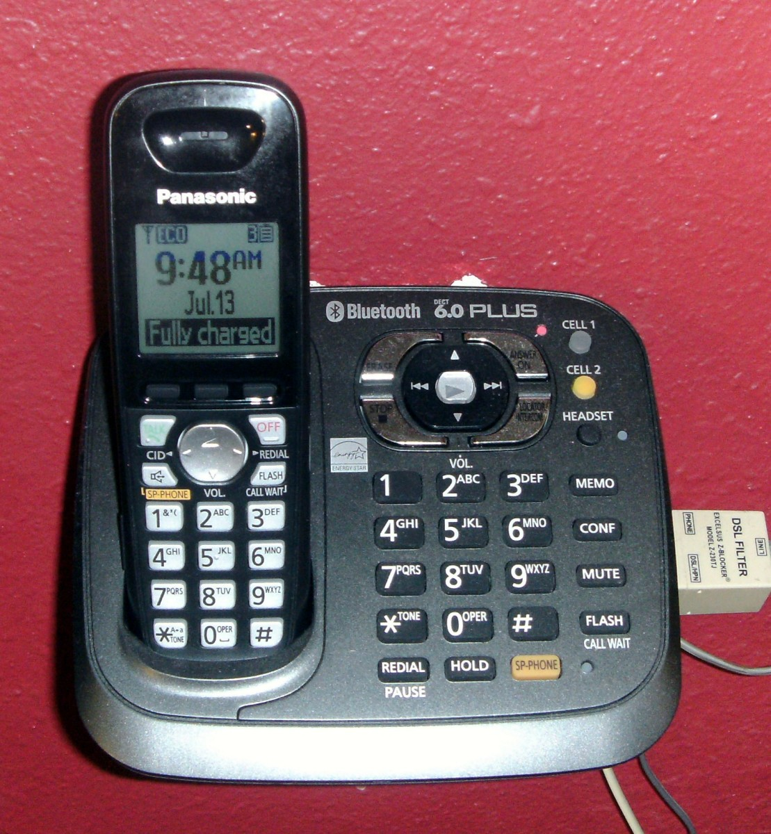 A Cordless Bluetooth Home Phone Review-Panasonic KX-TG