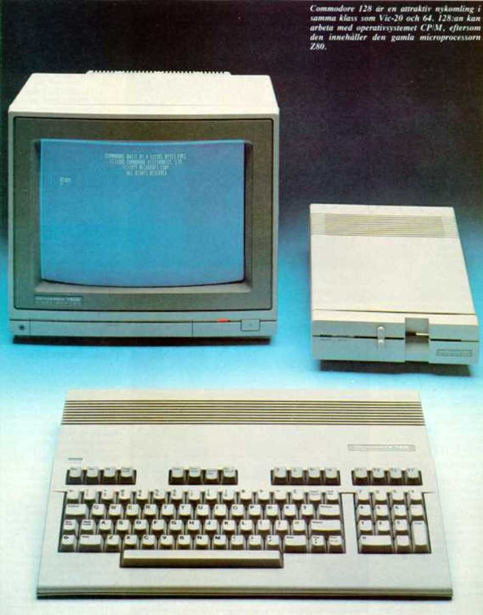 A professional set up of the C128