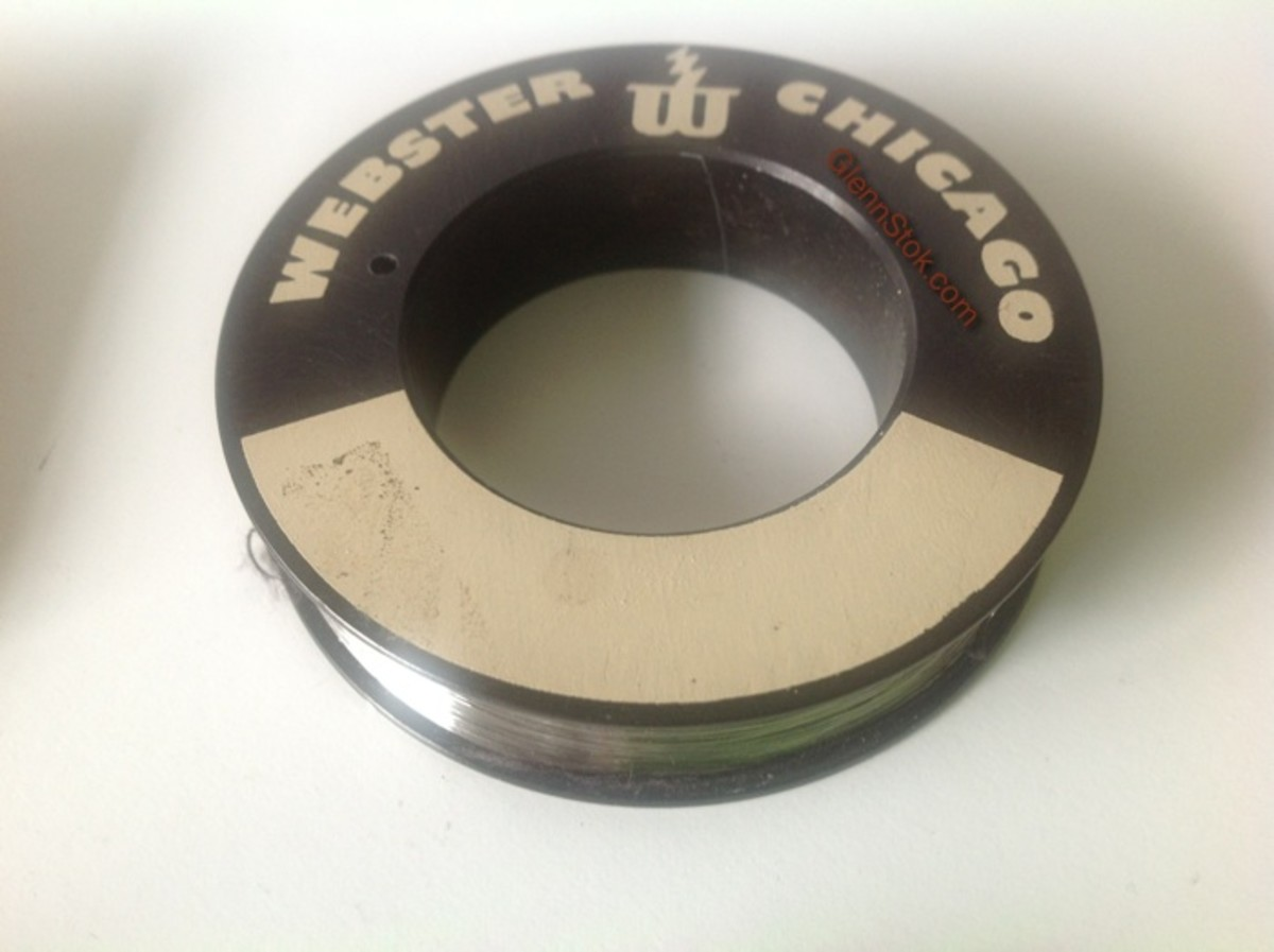 Webster Wire Recording Spool