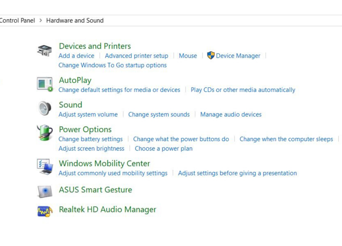 """Step 4: Make sure that you click on """"change what the power buttons do."""""""