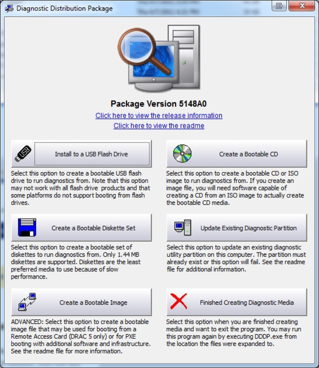 Dell Diagnostics Package