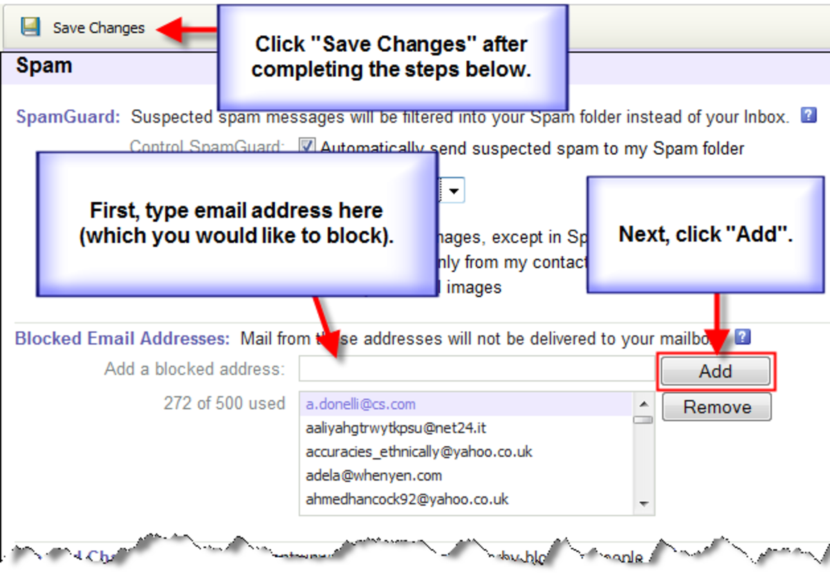 How to Set up Spam Settings in Yahoo Email | TurboFuture