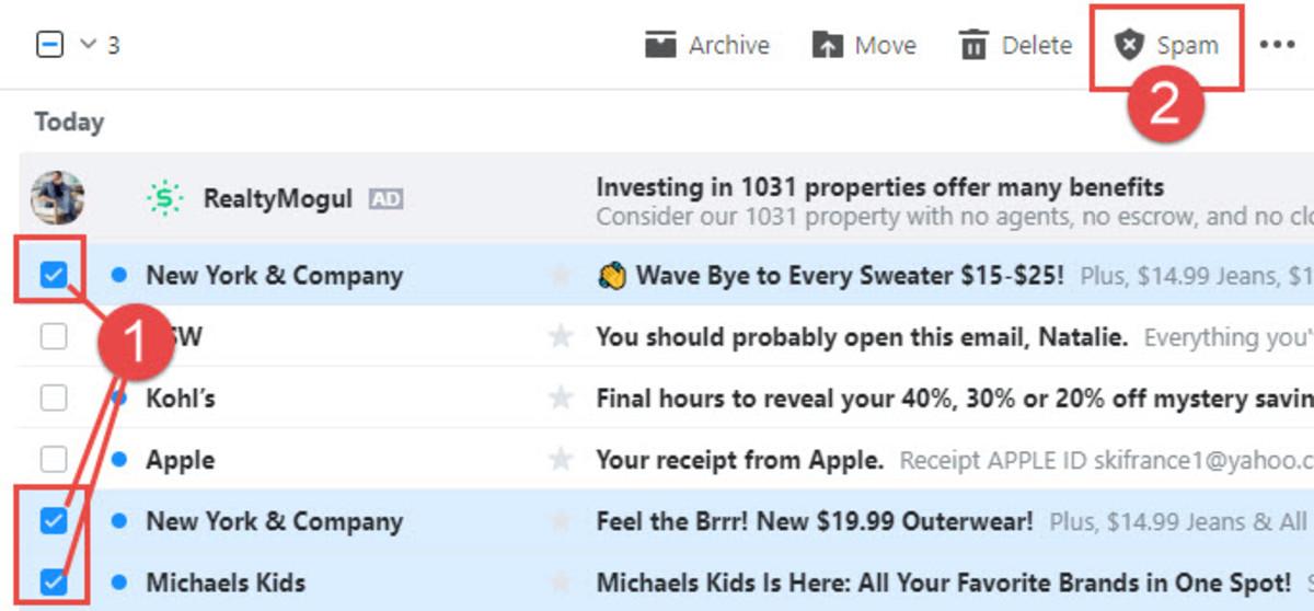 Send Emails to Spam Folder