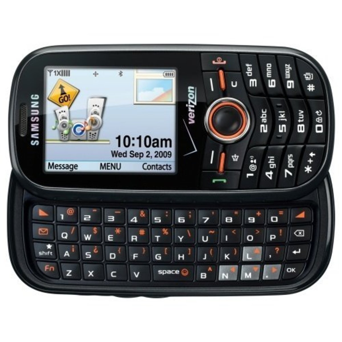 If you'd prefer to have a traditional keyboard, then the Samsung Intensity might just be the phone for you.