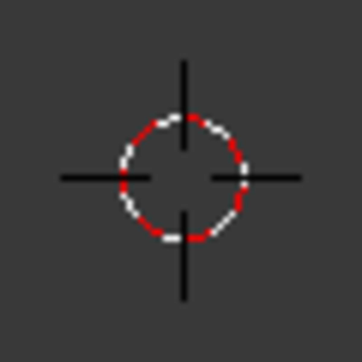 Blender's 3D cursor.