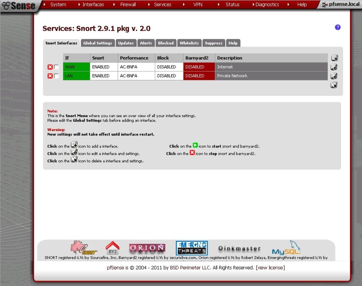 Set Up Intrusion Detection Using Snort on pfSense 2 0